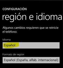 ConfiguracionIdioma