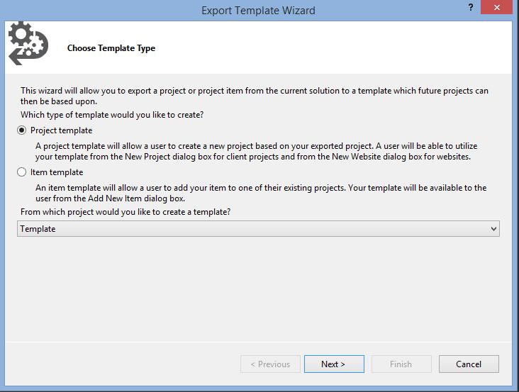 Crear plantillas de proyectos en Visual Studio 2013 |